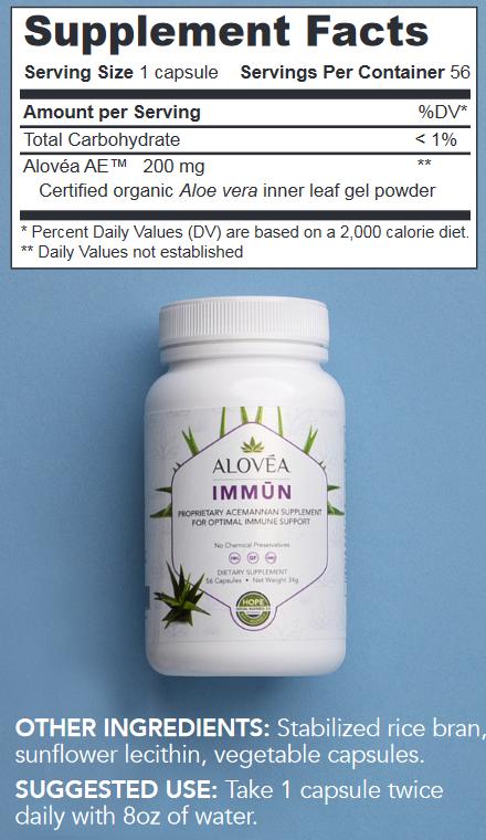 aloveia immun facts