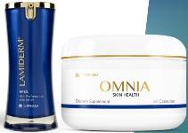 omnia and lamiderm skin health